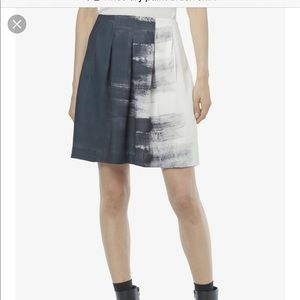 Vince dry brush paint skirt Size 10